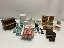 Vintage Dollhouse Furniture Lundby, F&B Toys, Other Misc. Assortment Mixed Lot