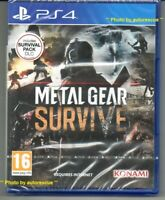 Metal Gear Survive (includes Survival Pack DLC)  'New & Sealed'  *PS4(Four)*