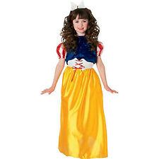 Girls Snow White Child Costume Dress Rubies 881044 Size Small 4-6