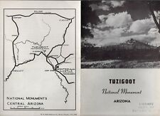 Vintage 1941 Arizona Travel Brochure - Tuzigoot National Monument