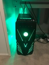 Used gaming PC from Vibox with keyboard, mouse and monitor.