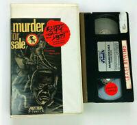 OSS 117: Murder For Sale VHS Former Rental Clamshell 1968 Thriller Vtg. Tape