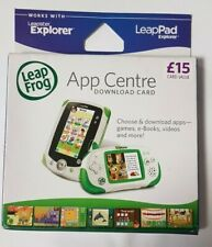 LeapFrog 38100 LeapPad Explorer App Center Download £15 Card Value SK191 DD 07