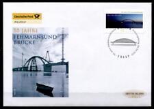 50 Jahre Fehmarnsundbrücke. FDC. Berlin. BRD 2013