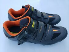 Mavic Ergo Fit 3d. Black and Orange. Size 13  cycling shoes