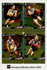 2011 AFL Teamcoach Trading Cards Gold Parallel Team Set Port Adelaide (11)