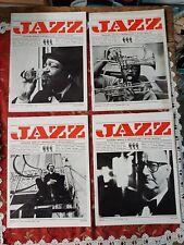 LOTTO 4 NUMERI JAZZ INFORMAZIONE E CRITICA MUSICALE N 6 8-9 11 12 1969
