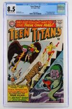 Teen Titans #1 - CGC 8.5 VF+ DC 1966 - Teen Titans join Peace Corps!!!