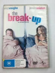 The Break-up Vince Vaughn Jennifer Aniston DVD R2 4 5 PAL with freePost Tracking