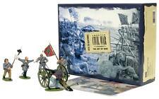 Britains Set # 17244 - FORWARD THE COLORS - 5 figure set w/ cannon- MIB