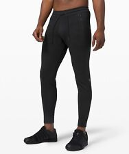 lululemon Engineered Warmth Joggers Black Large Men's Pants New Logo