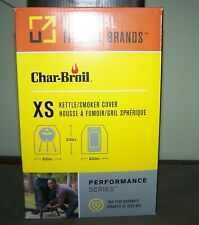"""Char-Broil Universal Grill/Kettle/Smoker Cover Size XS 33"""" x 22"""""""