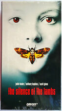 The Silence of the Lambs  - Jodie Foster & Anthony Hopkins (VHS, 1991) NEW