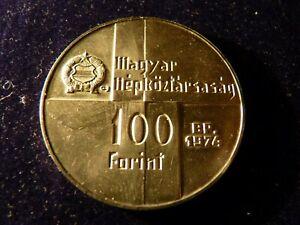 Ungarn 1 Silbermünze 100 Forint  1974 (82)