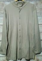 Gianfranco Ferre for Korean Air First Class Pajama Lounge Set Size XXL Beige