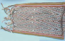NATIVE DESIGN SCARF ACCESSORY HANDMADE TEXTILE ABSTRACT MOTIF TIMOR ETHNIX