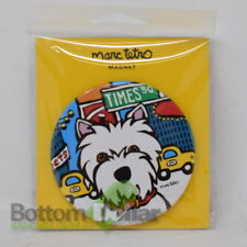 Marc Tetro Magnet Westie New York Times Square NYC Gift