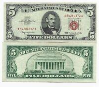 United States US Note 5 Dollars 1963 VF