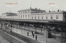 Eisenbahn & Bahnhof Ansichtskarten aus Brandenburg