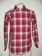 CARHARTT Long sleeve Casual Shirt Shirt regular fit red/red-white check S NEW