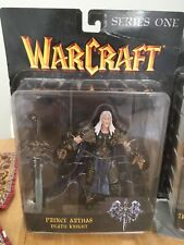 Warcraft Prince Arthas Death Knight Figure MOC 2003 Toycom Series 1 new😃