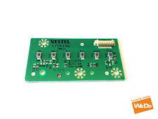 Toshiba 40d3553db 40 POLLICI SMART TV Vestel pulsanti board 17tk146 100111