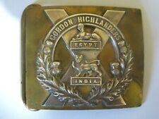 More details for ww1 or earlier gordon highlanders officers belt buckle by r&hb kirkwood