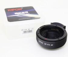 Kipon AF auto focus Canon EOS EF EF-S Lens to Fujifilm Fuji X FX Mount Adapter
