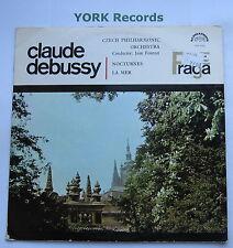 SUA 10575 - DEBUSSY - Nocturnes / La Mer FOURNET Czech PO - Ex Con LP Record