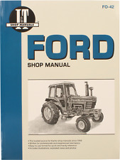 Fo42 Shop Manual Fits Ford New Holland 5000 5600 5610