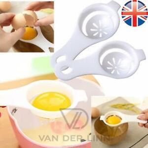 Home Ceramic Egg Separator Yolk White Separator Kitchen Gadgets Baking Tools UK