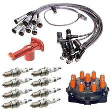 Mercedes W126 Ignition Distrubotor Cap Rotor Spark Plug Wire Kit Bosch