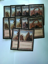 Magic The Gathering - Basic Lands - Mountain - Tempest