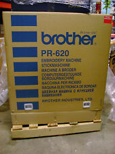 Brother PR-620 6 Needle Embroidery Machine Show Demo Model Brother