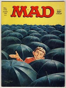 Mad Magazine -- #175 -- Sept. 1975 --- Umbrellas