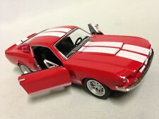 """1967 Ford Shelby Mustang GT-500 5"""" Diecast Car 1:38 Pull Back Kinsmart Toy Red"""