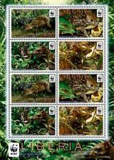 Liberia - 2011 - WWF - WATER CHEVROTAIN - Sheet of 8 Stamps - MNH