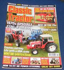 CLASSIC TRACTOR JANUARY 2011 - 1970S SPECIAL!