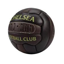 Chelsea Fc Leather Retro Style Vintage Heritage Football Size 1 Mini Ball