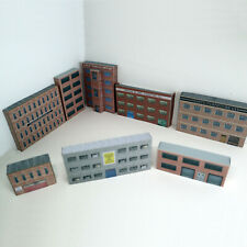 More details for n gauge 1:148 card model railway industrial warehouse pack of 8 x buildings (p-i