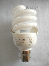 EDISON 20W SWITCH DIMMABLE COMPACT FLUORESCENT BULB IN WARM WHITE NO DIMMER REQ