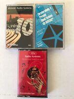 Chrysler-Infiniti & Ford Sound Demo Cassette Tapes (3)