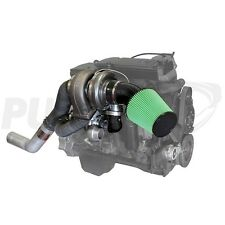 13-16 Dodge Ram Diesel PUSHER HIGH MOUNT COMPOUND TURBO SYSTEM Fits Cummins 6.7L