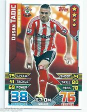 2015 / 2016 EPL Match Attax Base Card (228) Dusan TADIC Southampton