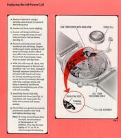 Accutron Service Manual Series 214 & 218 Bulova Watch Company - Guide Book on CD