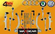 AUDI A4 A6 PASSAT SUPERB Complete front suspension control arms track  kit  set