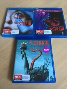 NEW - The Strain Series Complete  Season 1 2 3 1-3 Blu Ray Sets Aus Region B