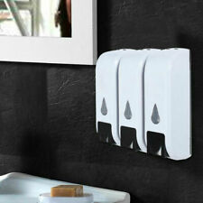 1/2/3*350 ml Wall Mounted Bathroom Shower Shampoo Lotion Liquid Soap Dispenser