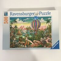 2017 HOT AIR HERO 500 Piece RAVENSBURGER Colorful Jigsaw PUZZLE Complete
