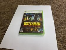 Watchmen: The End is Nigh Parts 1 and 2 (Microsoft Xbox 360, 2009) new sealed